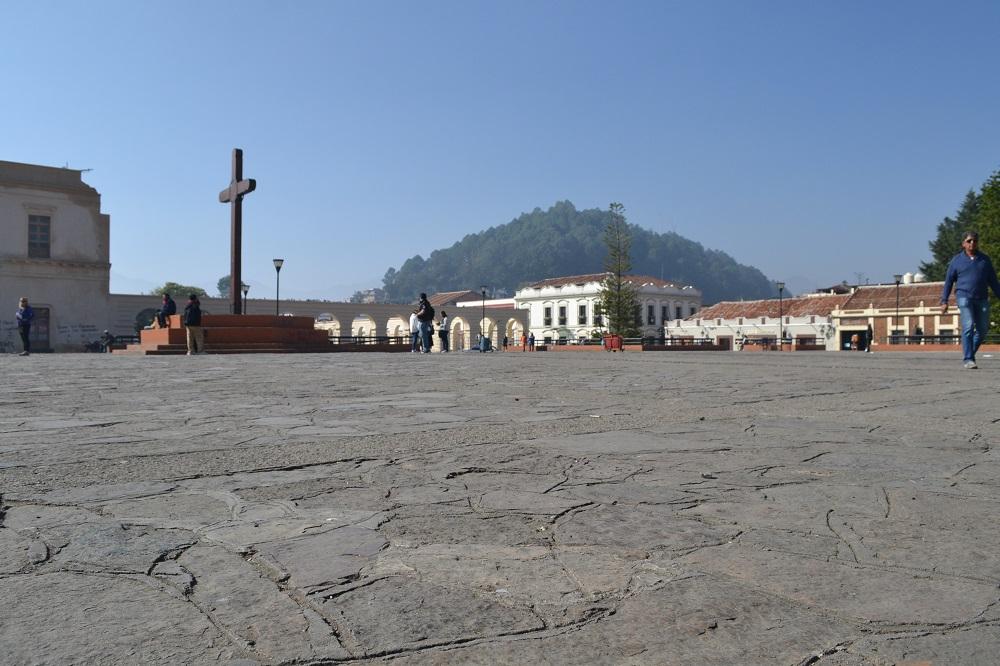 メキシコの元旦(広場)の写真
