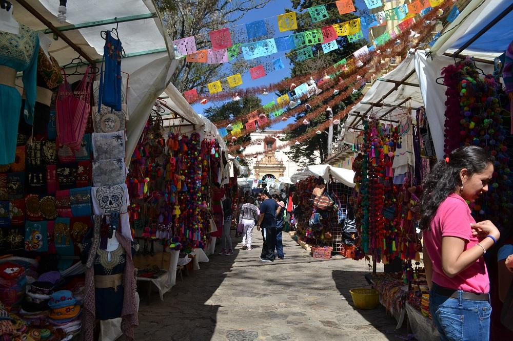サンクリストバルの民芸品売り場の写真