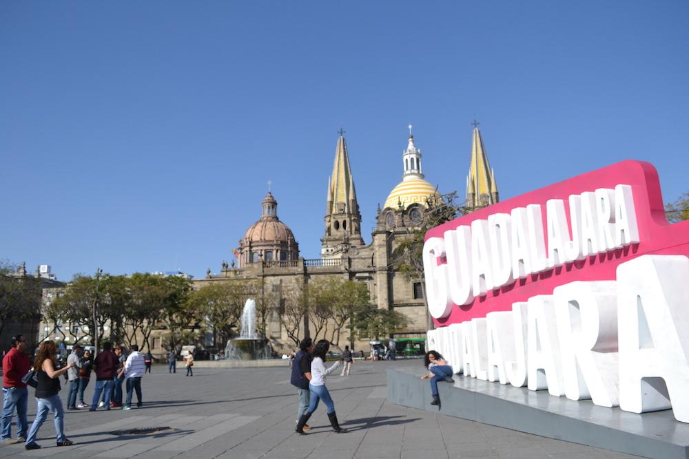 美しい建築☆徒歩でグアダラハラ市街地を観光してみたよ!
