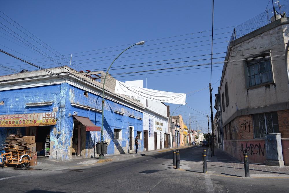 メキシコ・グアダラハラの住宅街