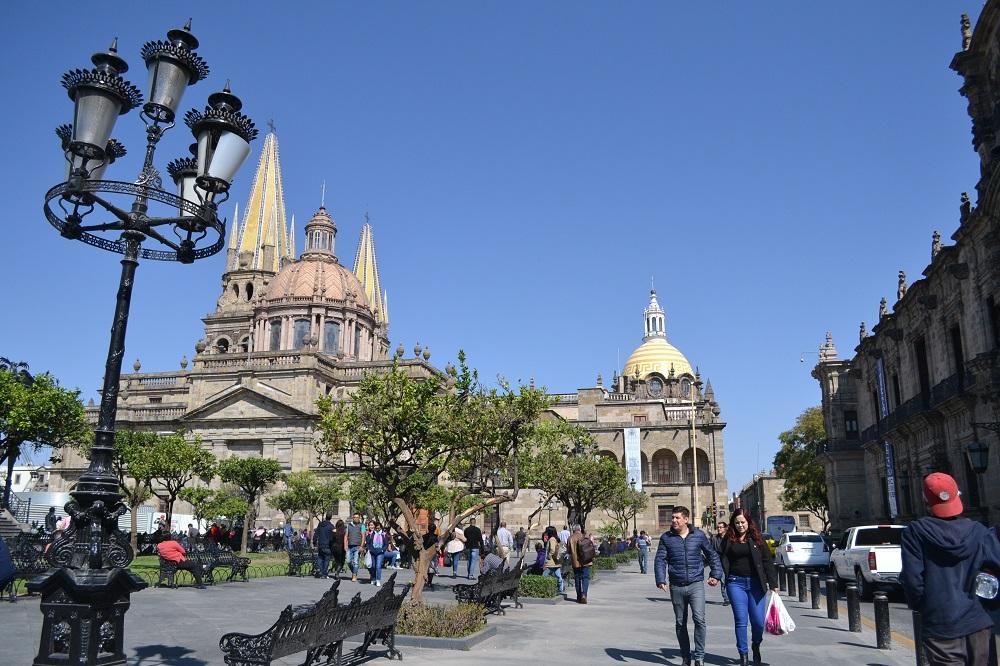 メキシコ・グアダラハラのカテドラルの写真
