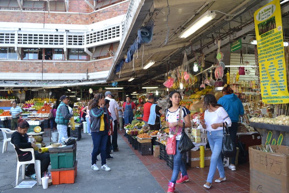メキシコ・グアダラハラのメルカド市場の写真