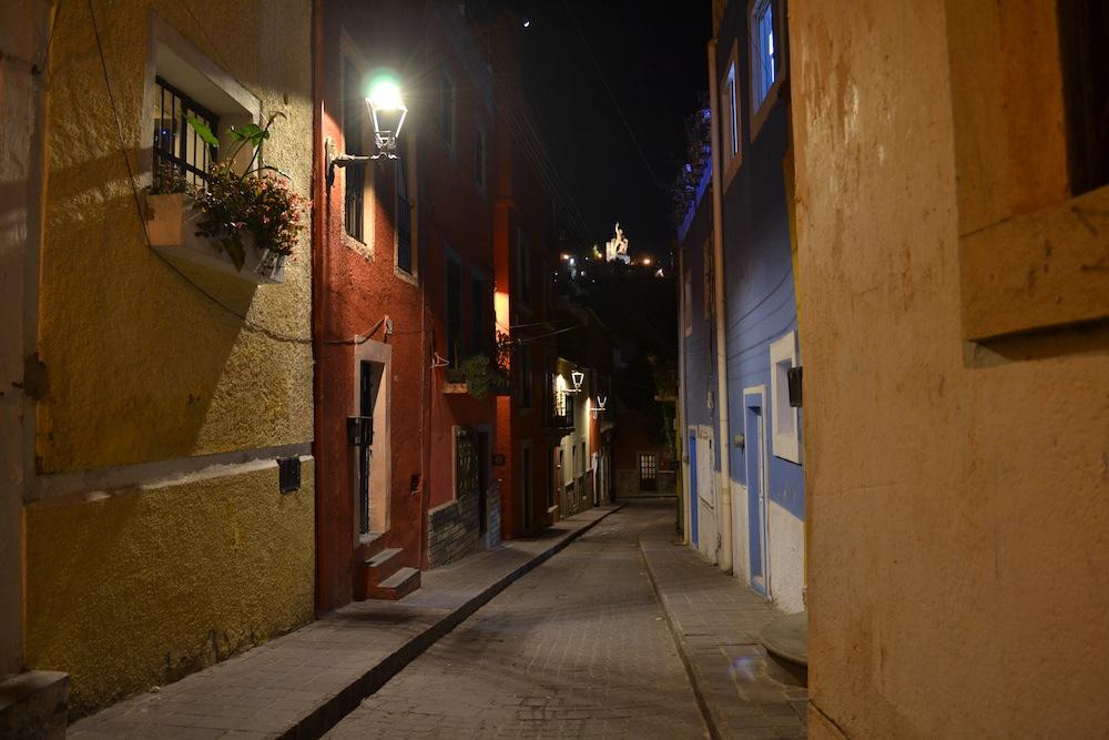 メキシコ・グアナファトの夜景2の写真