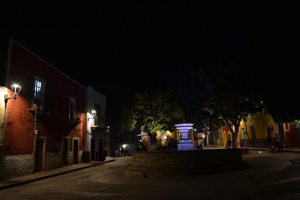 メキシコ・グアナファトの夜景3の写真