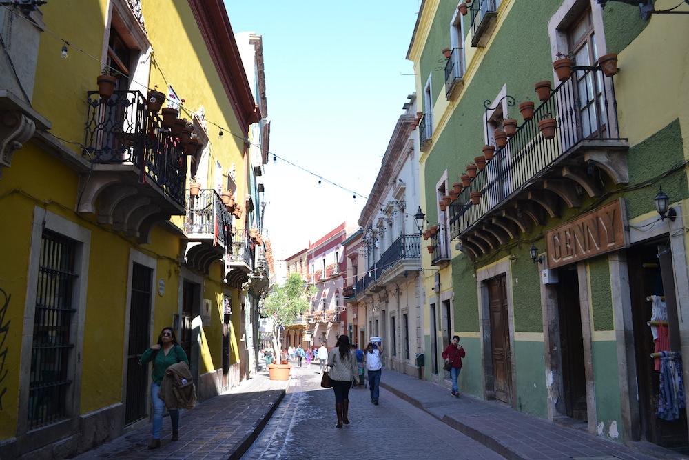 メキシコ・グアナフアトの町並み1の写真