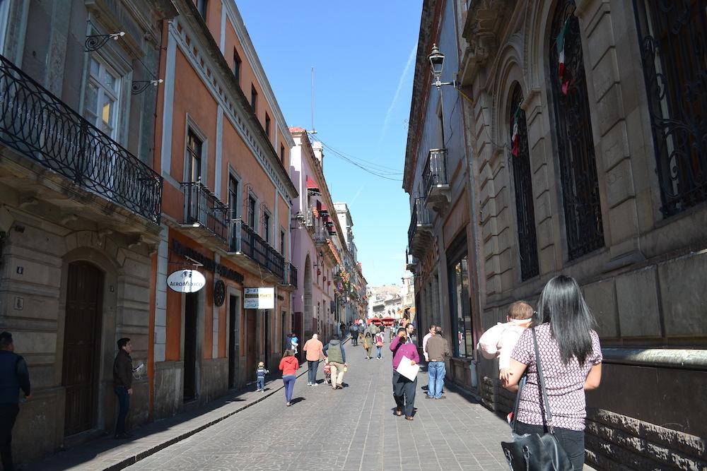 メキシコ・グアナフアトの町並み2の写真