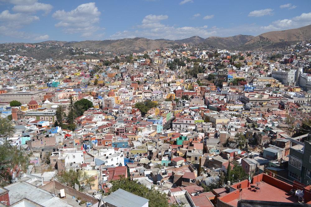 メキシコ・グアナフアトの展望台からの眺め1の写真