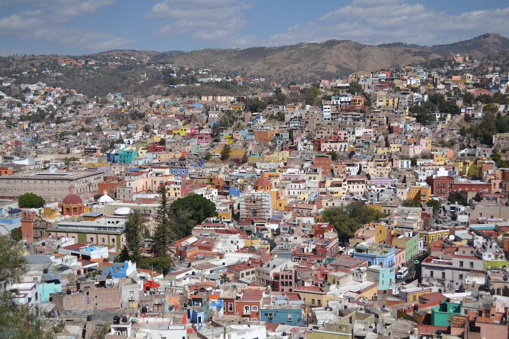 メキシコ・グアナフアトの展望台からの眺め2の写真
