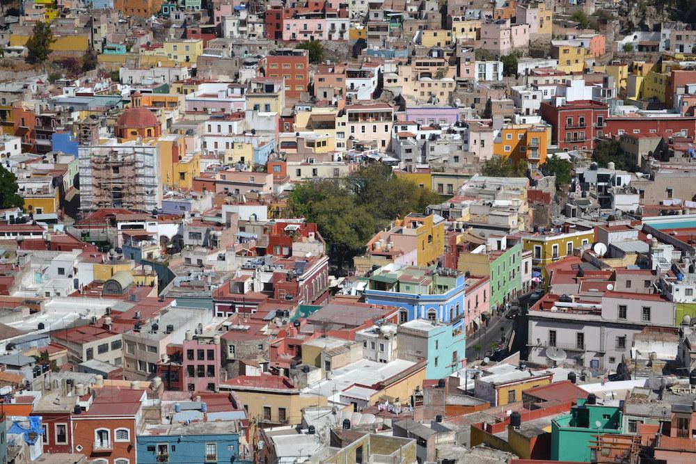 メキシコ・グアナフアトの展望台からの眺め4の写真