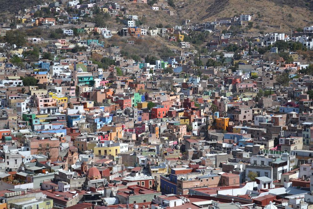 メキシコ・グアナフアトの展望台からの眺め3の写真