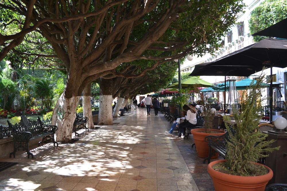 メキシコ・グアナフアトの町並み3の写真