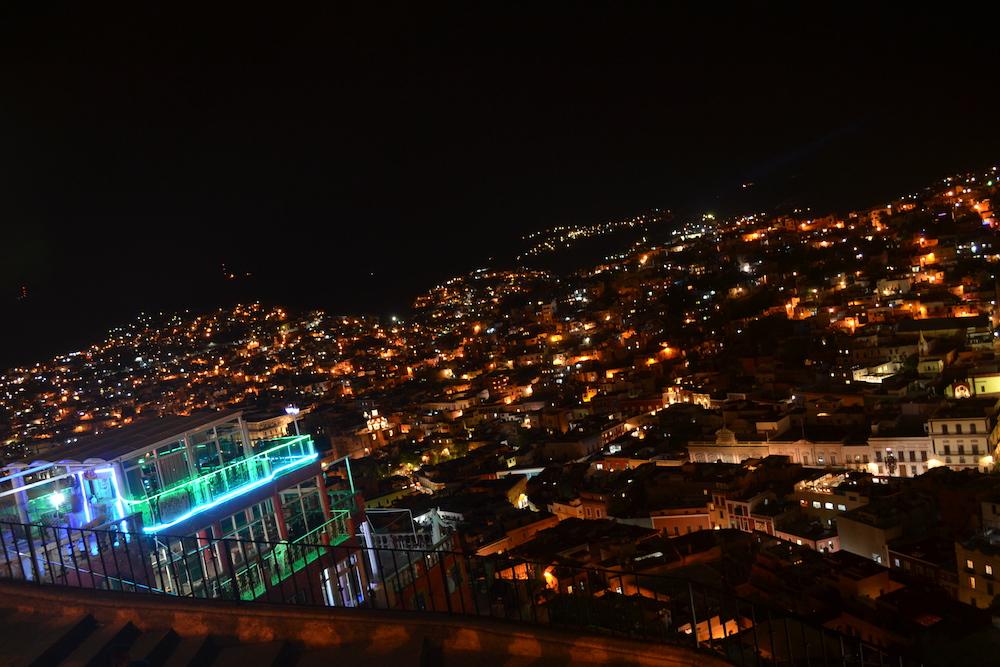 メキシコ・グアナファトの夜景(展望台から)の写真