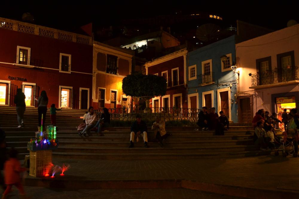 メキシコ・グアナファトの夜景5の写真