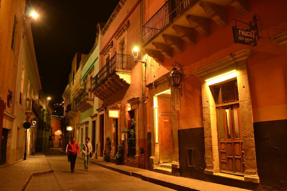 メキシコ・グアナファトの夜景7の写真