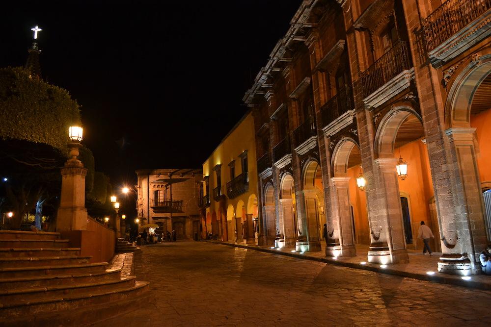 メキシコ・サンミゲルの夜景(広場)2の写真