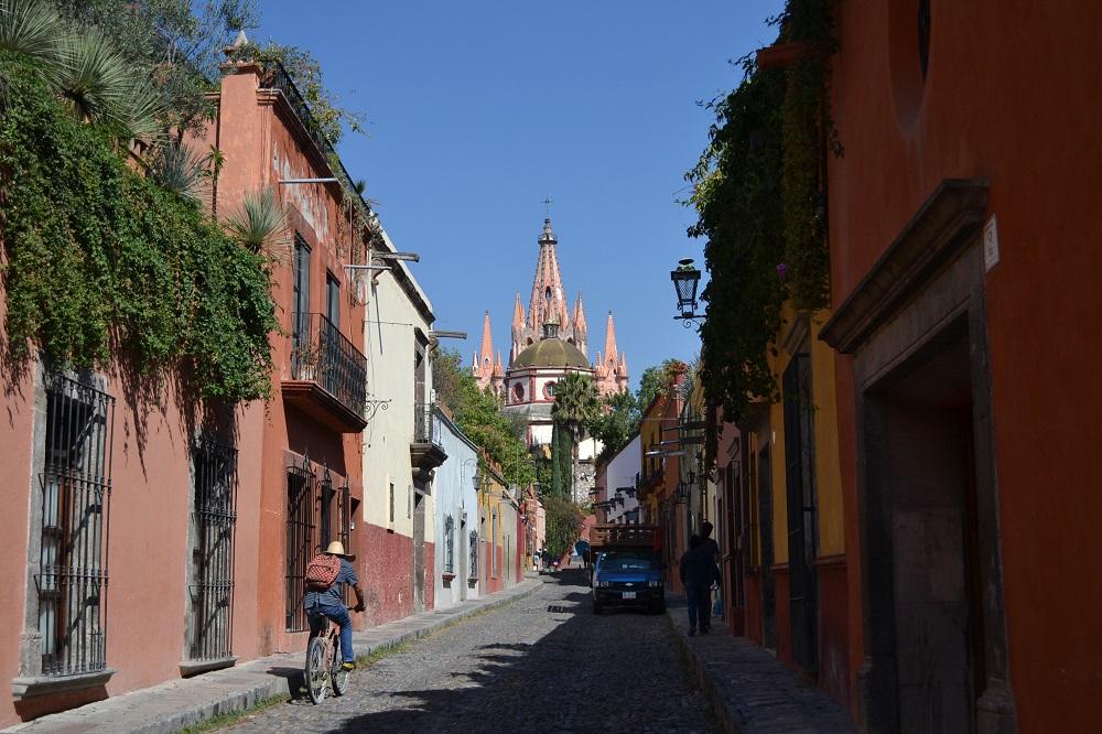 サンビゲルアジェンテの町並み1の写真