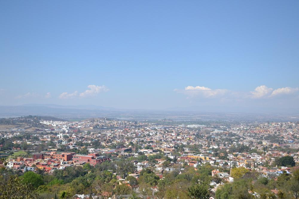 メキシコ・サンミゲルの展望台からの眺めの写真