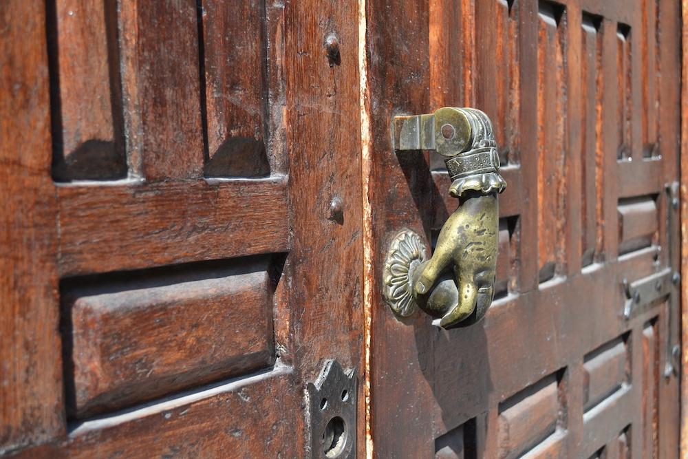 メキシコ・サンミゲルのドアノッカーの写真