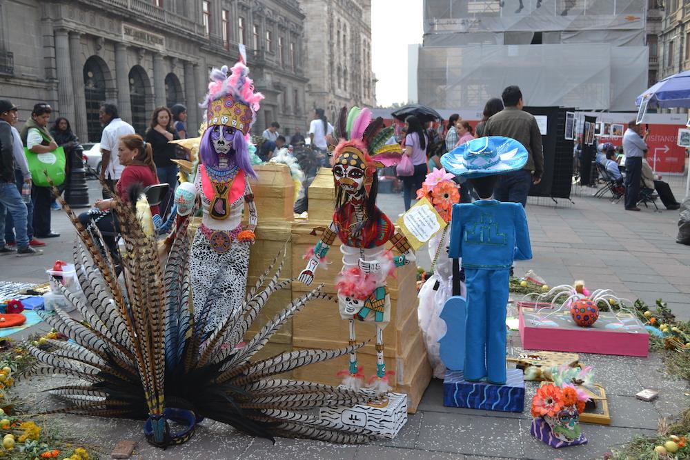 メキシコ・インディアン(?)のアートの写真