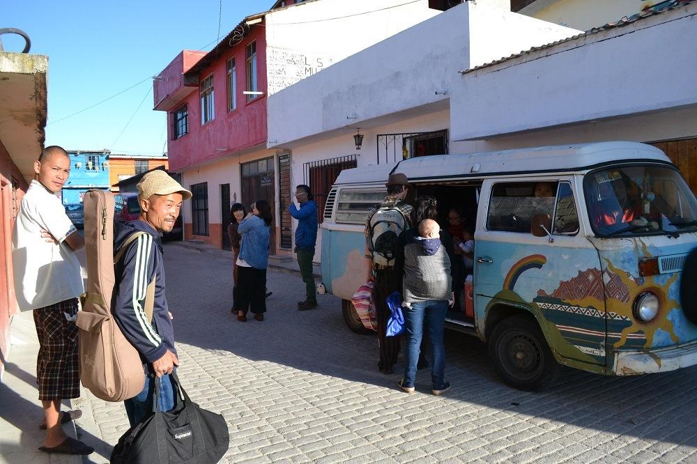 サンクリストバル・デ・ラス・カサスの日本人宿CASA KASAの皆(たくちゃん出発)の写真