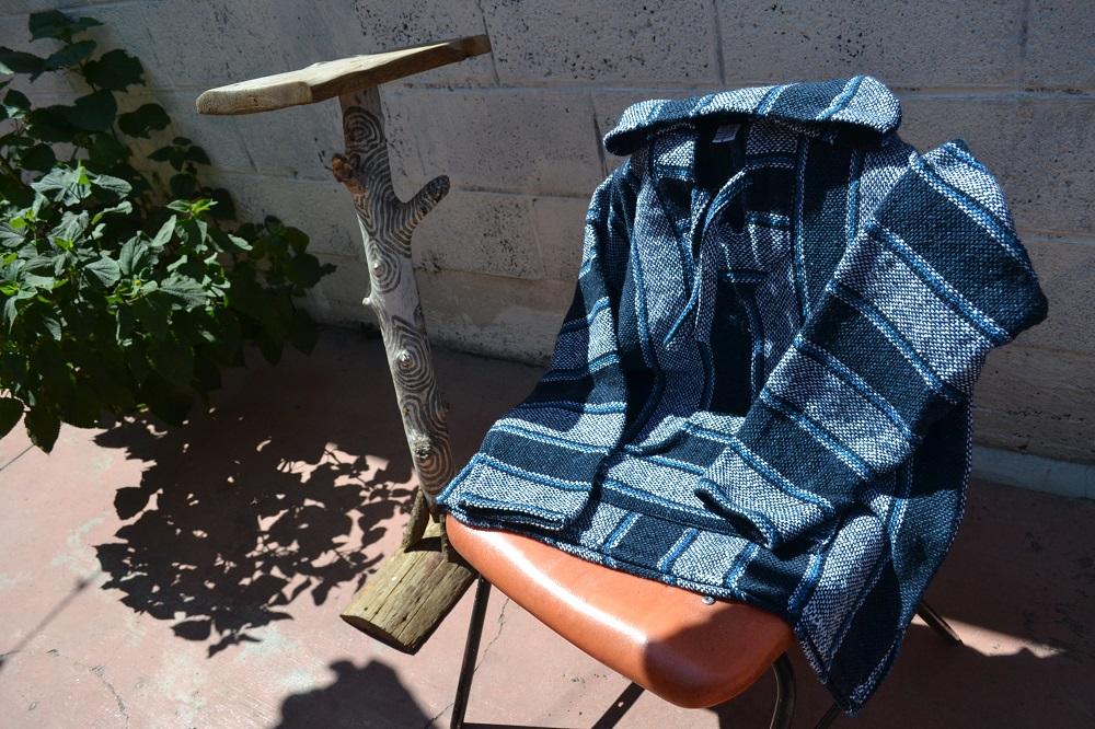 メキシカンパーカー(青・紺)