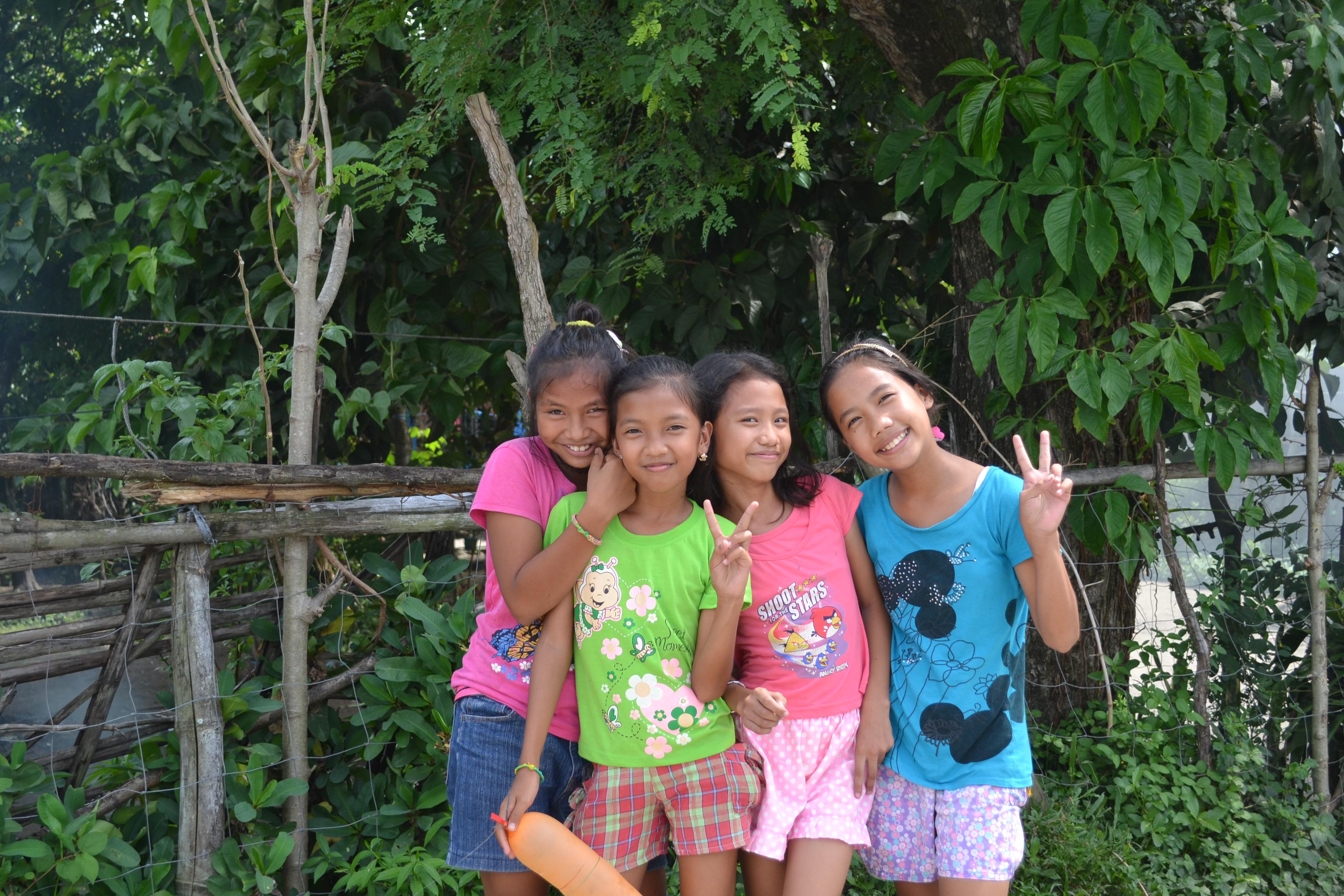 女の子たちの写真