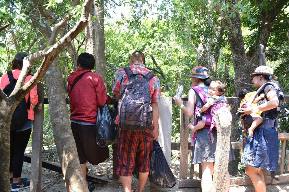 サンクリストバル・デ・ラス・カサスの日本人宿カサカサの皆でチフロンの滝遠足の写真