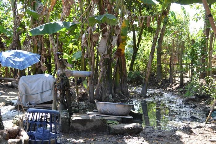 井戸の写真