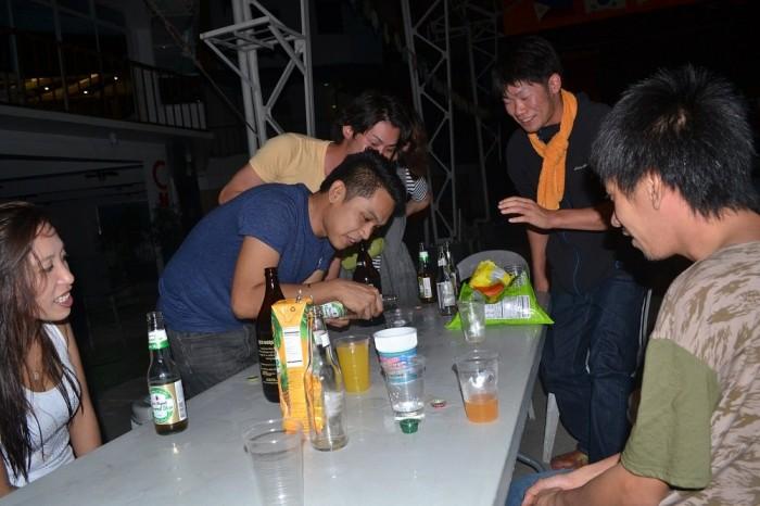 ドリンキングパーティの写真