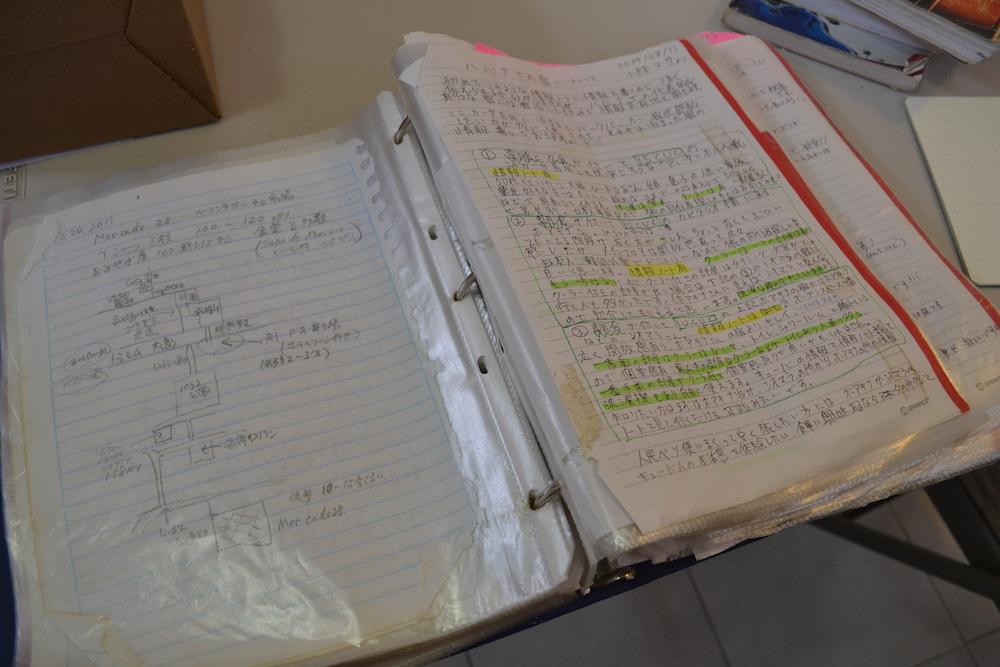 カンクンのカサ吉田でキューバの情報ノートを熟読するぜ!