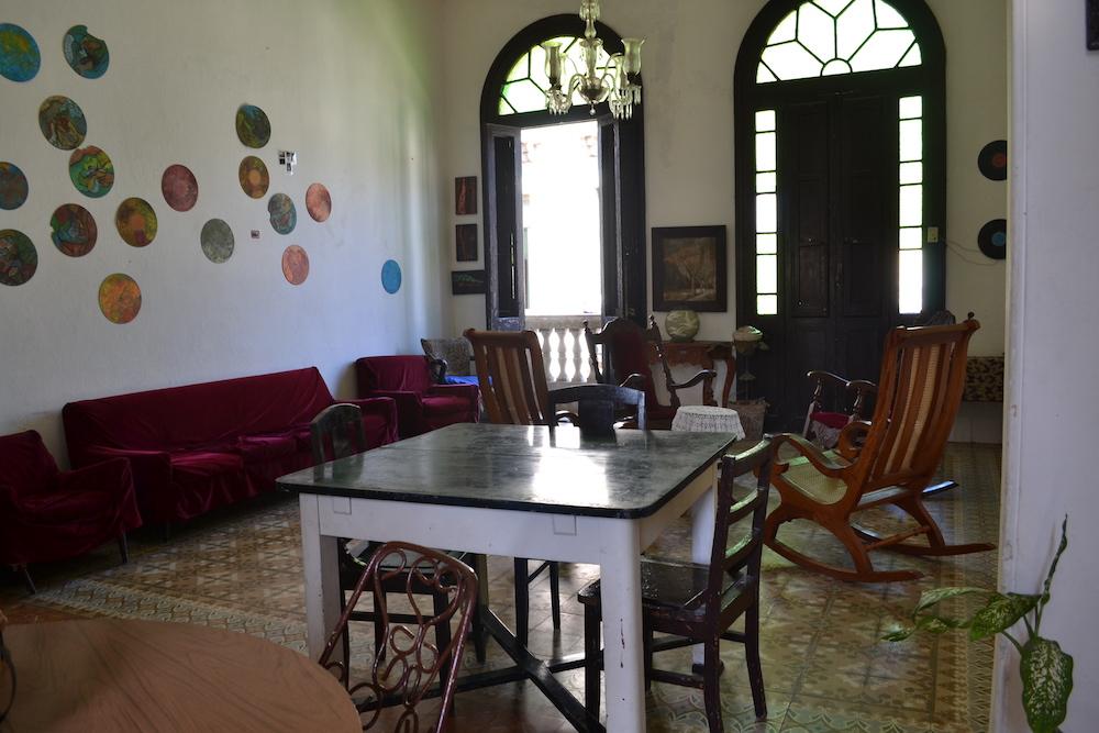 キューバ・ハバナの民宿シオマラ(共有スペース)の写真