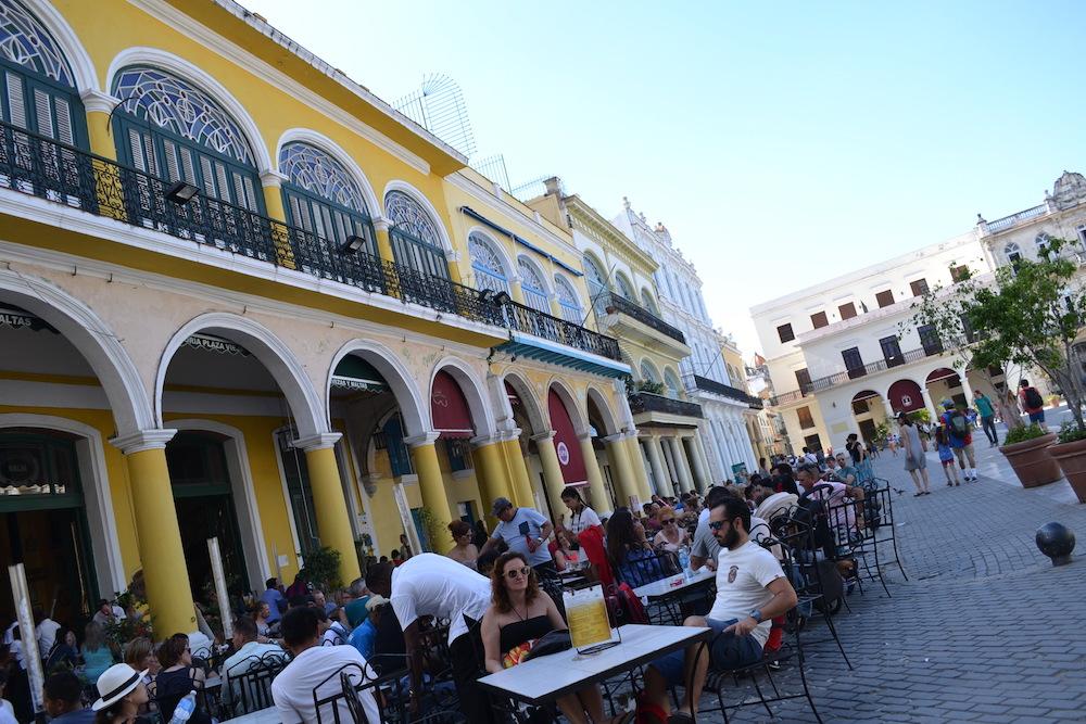 キューバ・ハバナのカフェレストランの写真