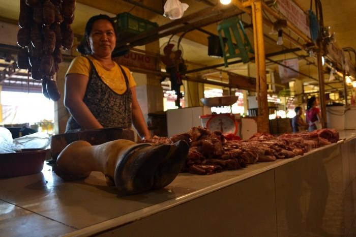 お肉屋さんの写真