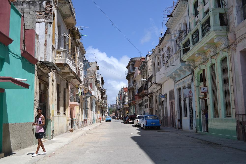 キューバ・ハバナの住宅地1の写真