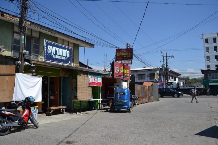 フィリピンの床屋の写真