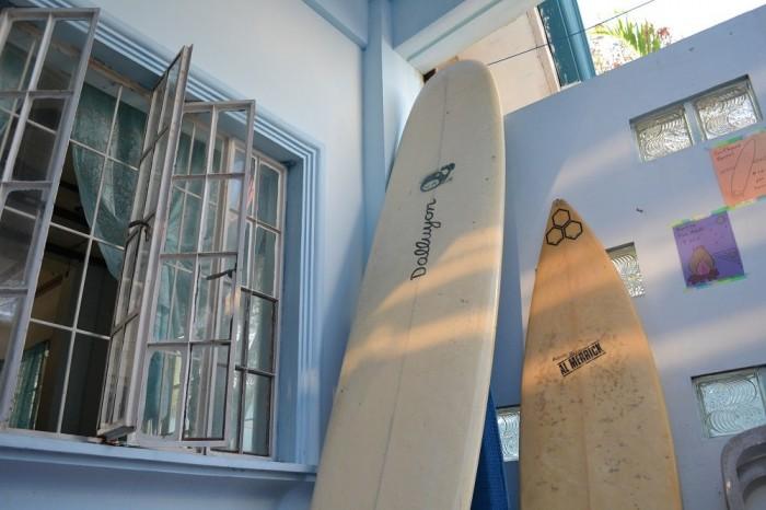 サーフボードの写真