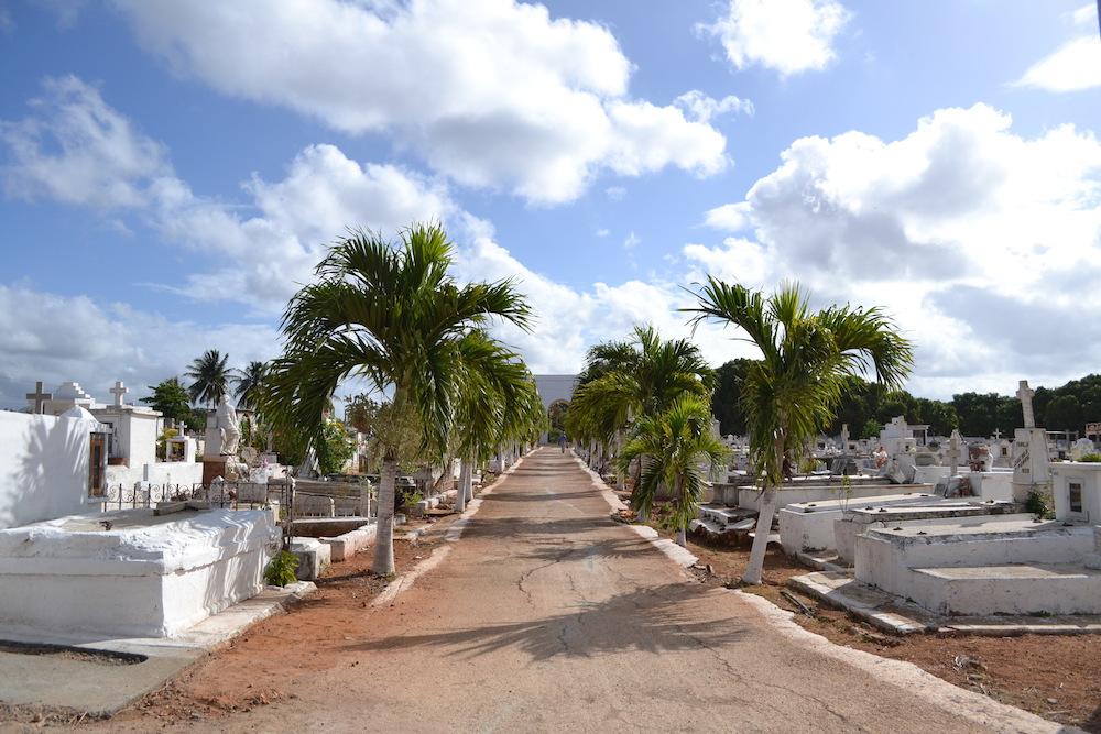 キューバ・トリニダーのお墓の写真