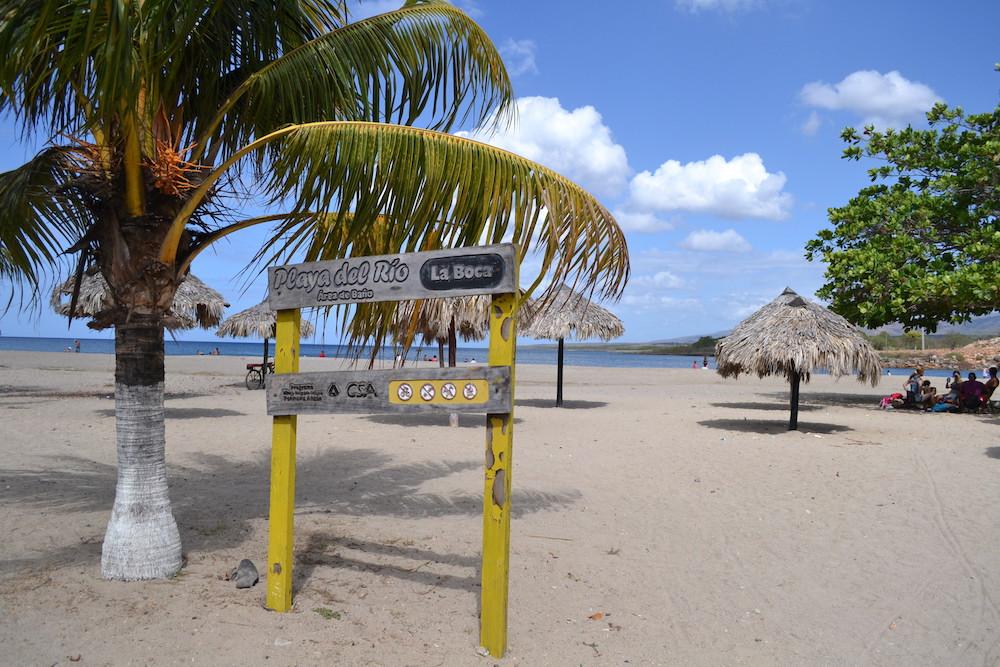 キューバ・トリニダーの郊外(La Bocaビーチ)の写真