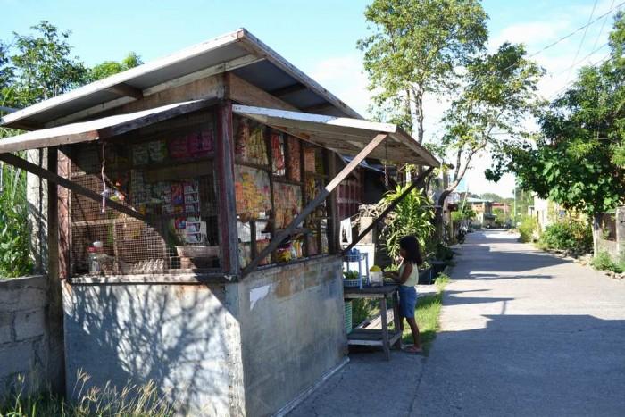 ビガンの駄菓子屋の写真