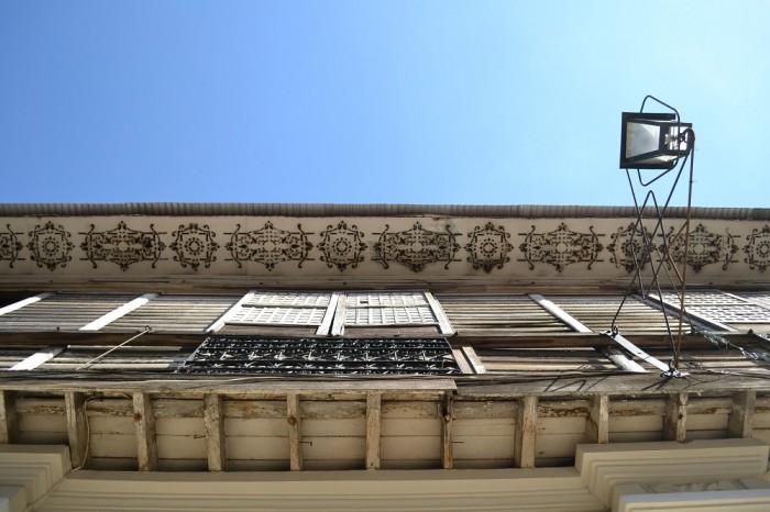ビガンの屋根の裏の写真