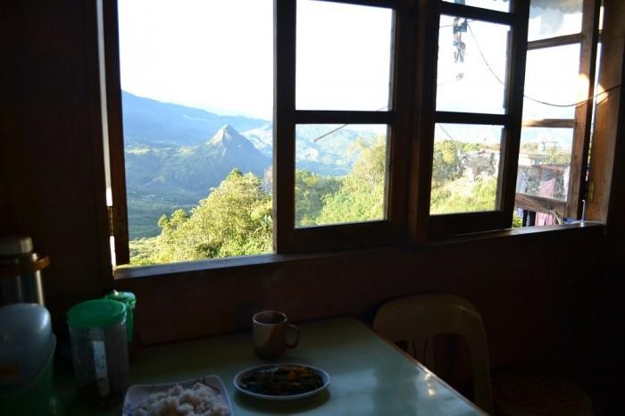 ボウコの食堂の窓の写真
