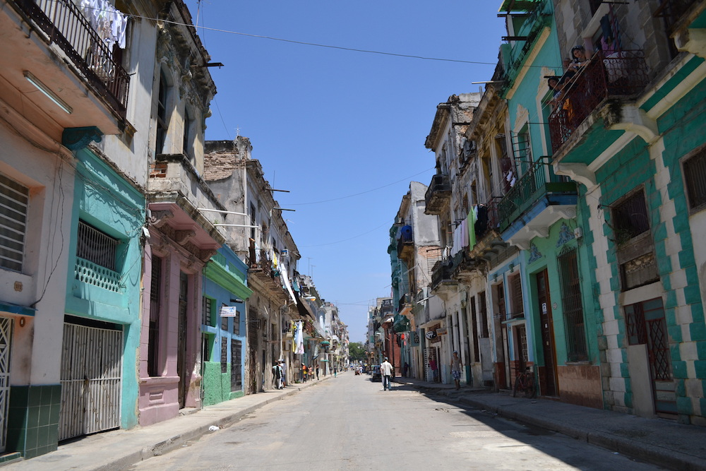 キューバ・ハバナの住宅地4の写真