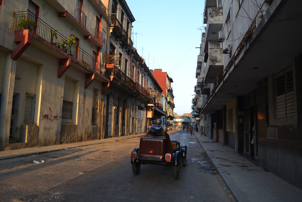 キューバ・ハバナの住宅地3の写真