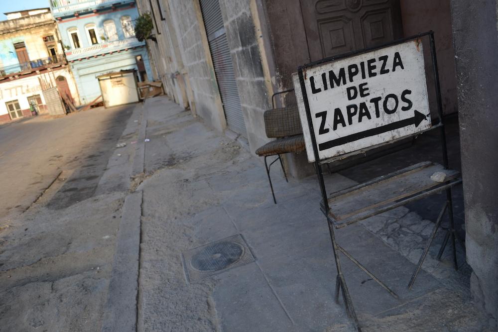 キューバ・ハバナの民宿ホアキナ(入口)の写真