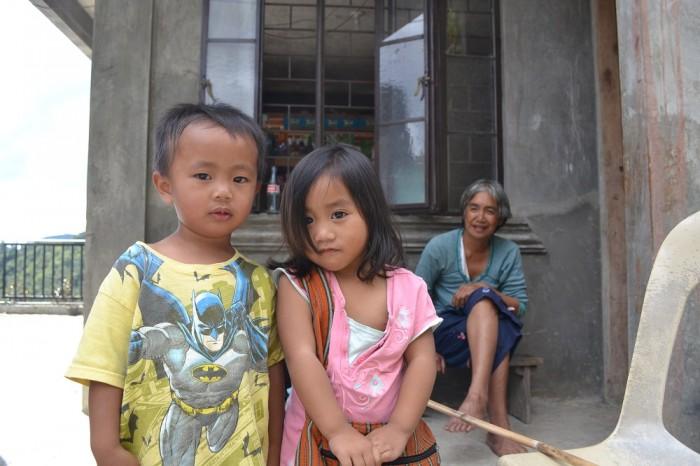 イフガオの子供の写真