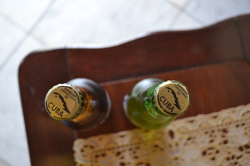 キューバの瓶ビールのフタの写真