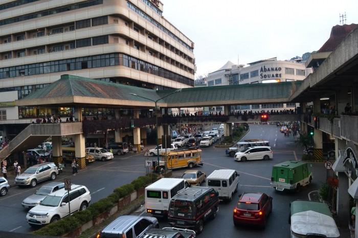 バギオの道路の写真
