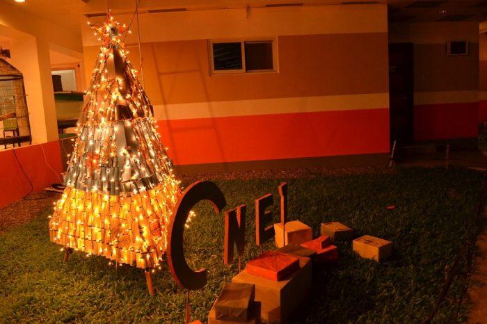 CNE1のクリスマスツリーの写真