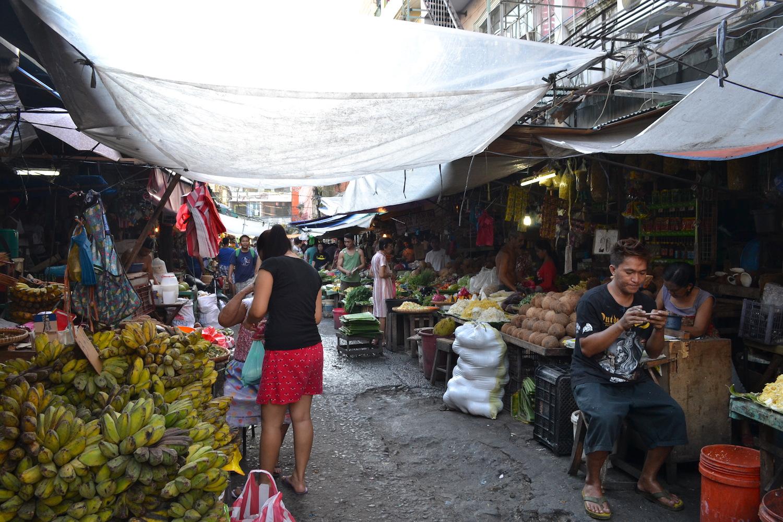 マニラの市場の写真