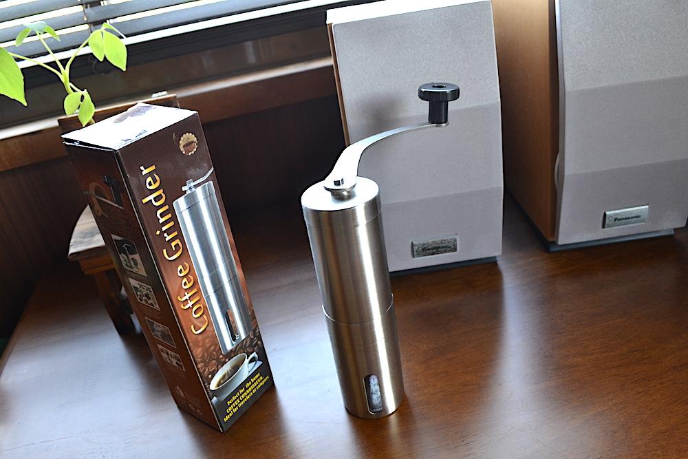 Homdox手動コーヒーミル(箱)の写真